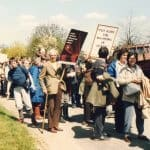 RAF Molesworth 1985 Protest